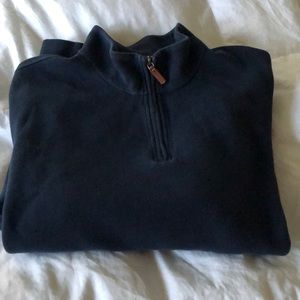 Lands End Men's 3/4 zip up